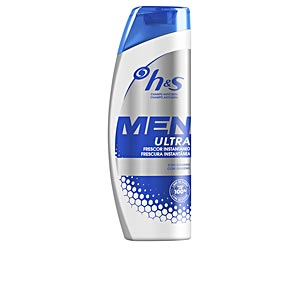 Anti-dandruff shampoo - Moisturizing shampoo H&S MEN ULTRA champú frescor instant Head & Shoulders