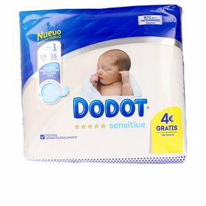 Hygiene for kids - Diapers DODOT SENSITIVE T1 pañales 2-5 kg Dodot