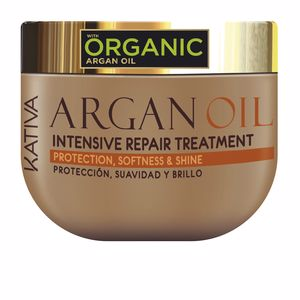 Hair mask for damaged hair ARGAN OIL intensive repair treatment Kativa