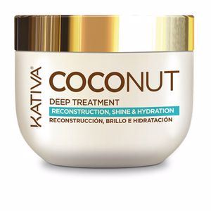 Tratamiento reparacion pelo COCONUT deep treatment Kativa