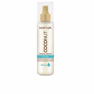 Hair moisturizer treatment COCONUT reconstruction serum cream Kativa