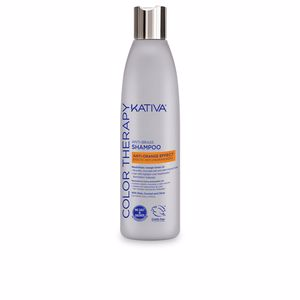 Champú color ANTI-BRASS anti-orange effect shampoo Kativa