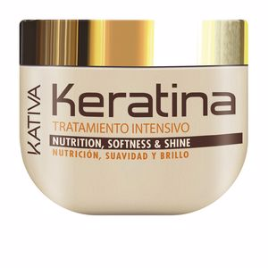Keratin mask - Anti frizz mask KERATINA tratamiento intensivo nutrition Kativa