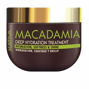 Shiny hair  treatment MACADAMIA deep hydration treatment Kativa