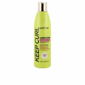 Shiny hair products KEEP CURL conditioner Kativa