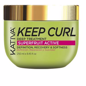 Tratamiento rizos KEEP CURL deep treatment Kativa