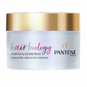 Hair mask for damaged hair HAIR BIOLOGY PURIFICA & REPARA mascarilla Pantene