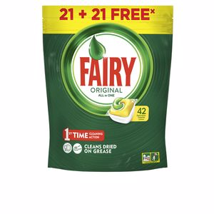 Detergent do zmywarek FAIRY TODO EN 1 LIMON lavavajillas Fairy