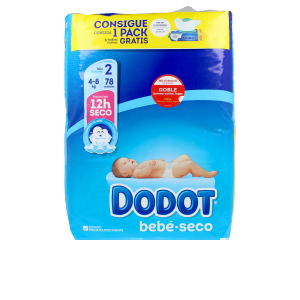 Hygiene for kids - Diapers DODOT ETAPAS T2 pañales 4-8 kg Dodot