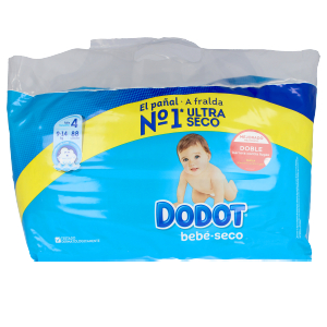 Hygiene for kids - Diapers DODOT ETAPAS T4 pañales 9-14 kg Dodot