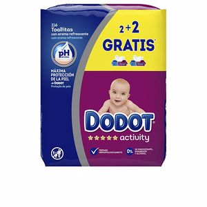 Hygiene for kids - Wet wipes DODOT ACTIVITY toallitas húmedas recambio Dodot