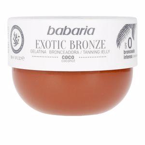 Body SOLAR GELATINA COCO SPF0 exotic bronze Babaria