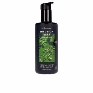 Shower gel INFUSION VERT moisture soap Mádara Organic Skincare