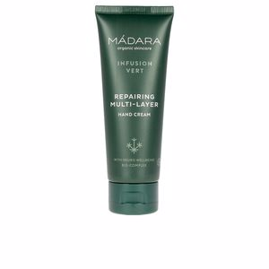 Hand cream & treatments INFUSION VERT repairing multi-layer hand cream Mádara Organic Skincare