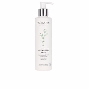 Make-up remover - Cleansing milk - Make-up remover CLEANSING MILK calming jasmine Mádara Organic Skincare