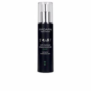 Anti-rugas e anti envelhecimento - Tratamento hidratante rosto SMART anti-fatigue urban moisture fluid Mádara Organic Skincare
