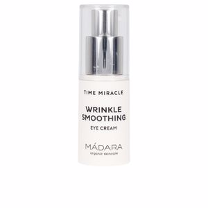 Contorno dos olhos TIME MIRACLE wrinkle smoothing eye cream Mádara Organic Skincare