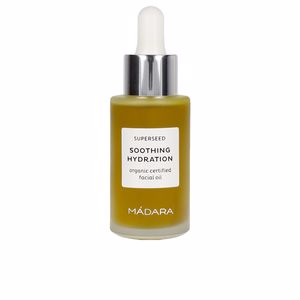 Face moisturizer SUPERSEED soothing hydration organic facial oil Mádara Organic Skincare