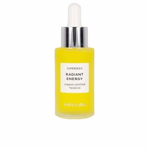 Efecto flash SUPERSEED radiant energy organic facial oil Mádara Organic Skincare