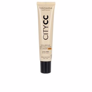 CC Cream CITYCC hyaluronic anti-pollution CC cream SPF15 Mádara Organic Skincare