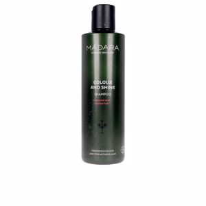 Shampoo for shiny hair - Colorcare shampoo COLOUR AND SHINE shampoo Mádara Organic Skincare
