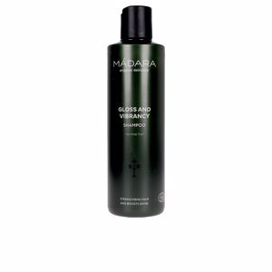 Shampoo for shiny hair GLOSS AND VIBRANCY shampoo Mádara Organic Skincare