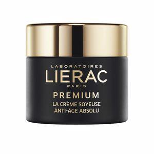 Anti aging cream & anti wrinkle treatment PREMIUM la crème soyeuse Lierac