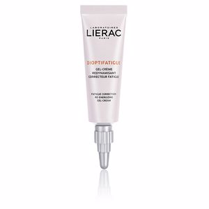 Dark circles, eye bags & under eyes cream - Eye contour cream DIOPTIFATIGUE gel-crème redynamisant correcteur fatigue Lierac