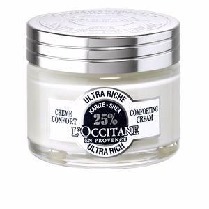 Soin du visage hydratant KARITE crème confort ultra riche visage L'Occitane