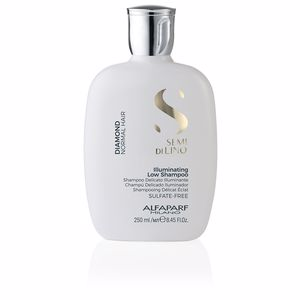 Champú color SEMI DI LINO DIAMOND illuminating low shampoo Alfaparf