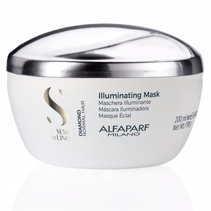 Haarmaske SEMI DI LINO DIAMOND illuminating low mask Alfaparf