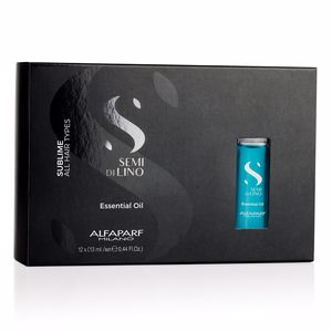Hair styling product SEMI DI LINO SUBLIME essential oil Alfaparf