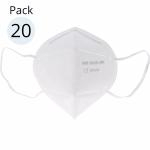Mask Protection, KN95-FFP2 foldable mask 20 pz