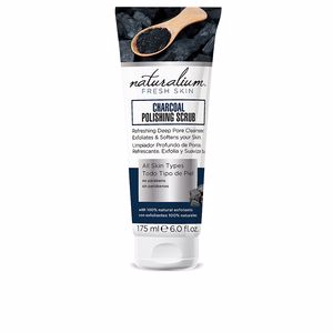 Exfoliante facial CARBON polishing scrub Naturalium