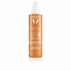 Body CAPITAL SOLEIL lait SPF30 spray Vichy Laboratoires