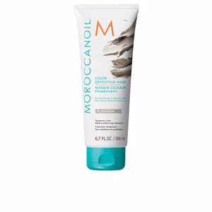 Tintura Temporária COLOR DEPOSITING MASK platinum Moroccanoil