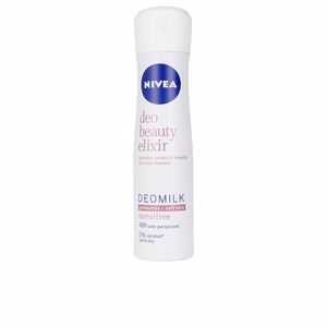 Déodorant MILK BEAUTY ELIXIR SENSITIVE deo vaporisateur Nivea