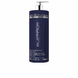Hair mask PLATINUM toner blonde hair Abril Et Nature