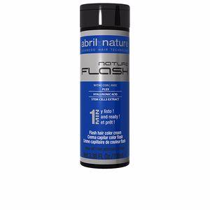 NATURE FLASH hair color cream #0.8