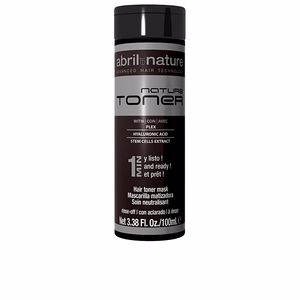 Dye NATURE TONER hair toner mask Abril Et Nature