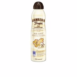 Lichaam SILK AIR SOFT SILK bruma SPF50 spray Hawaiian Tropic