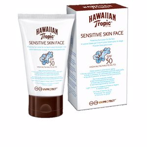 Faciais SENSITIVE SKIN FACE sun lotion SPF50 Hawaiian Tropic