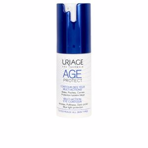 Dark circles, eye bags & under eyes cream - Eye contour cream AGE PROTECT  eye contour Uriage