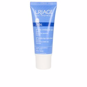 Haircare for kids - Hair moisturizer treatment BEBÉ cradle cap skincare cream Uriage