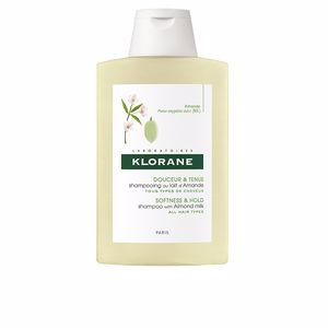 Volumizing shampoo - Shampoo for shiny hair SOFTNESS&HOLD shampoo with almond milk Klorane
