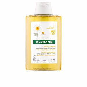 Purifying shampoo - Shampoo for shiny hair BLOND HIGHLIGHTS shampoo with chamomile Klorane