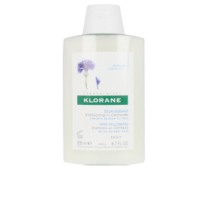 Shampoo für gefärbtes Haar ANTI-YELLOWING shampoo with centaury Klorane