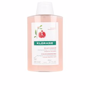 Champú color COLOR RADIANCE shampoo with pomegranate Klorane