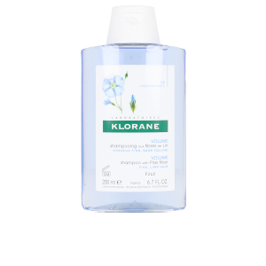 Volumizing shampoo VOLUME shampoo with flax fiber Klorane
