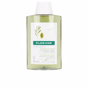 Champú hidratante THICKNESS&VITALITY shampoo essential olive extract Klorane